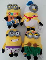 Peluche Minion 3D Hawaii Originales 2015 Ojos + Gafas Real Minions 2015 Película