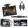 "4.3"" LCD Car Rear View Monitor Wireless Reverse Backup IR Night Vision Camera"