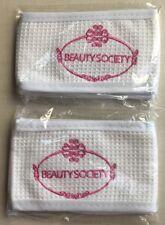 Beauty Society Spa Headbands White Facial Care Lot Of 2 Pamper Party