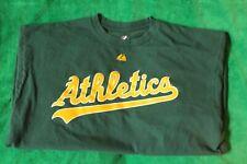 Majestic MLB Oakland Athletics Yoenis Cepedes #52 T-Shirt size X-Large