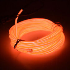Flexible Neon Glow LED Light EL Wire String Strip Rope Tube Car Christmas Party