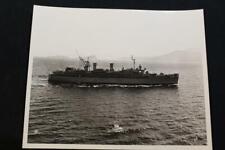 New listing Military Ship Photo Uss Prairie (Ad-15) 8' X 10' B & W Photo (P1223)