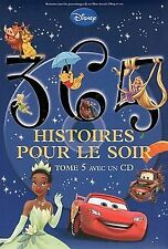 365 histoires pour le soir : Tome 5 (1CD audio) de ... | Livre | état acceptable
