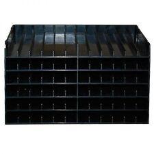 Crafters Companion Spectrum Noir Ink Pen Black Storage Unit 6 trays for 72 pens