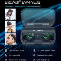 BlitzWolf TWS Bluetooth 5 In-ear Smart Touch 2600mAh Earphone Earbud Headphone