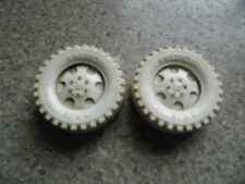 Vintage Pair of Amloid Toy Tires - Parts or Restoration