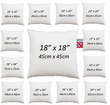 "Cushion Pad Extra Filled Inner Cushion Sofa Pads 12"" 14"" 16"" 18"" 20"" 22"" 24"" 28"""