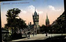 Hanover Game Flusswasserkunst Fountain Church Postcard Postcard Ak Pk