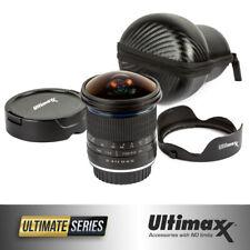 ULTIMAXX 7mm f/3.0 Aspherical Fisheye Lens for Nikon DSLRs - Ultra Wide Angle