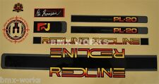 Redline 1984 Onwards PL-20 Proline Decals Set Suit Your Old School BMX