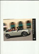 """Mini cabriolet trottoir décembre 2006 press photo """"voiture brochure connexes"""""""