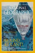 National Geographic (Sep 1999) Breitling Orbiter 3 Balloon, NASA Galileo Mission