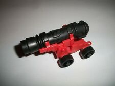 Playmobil Pirate Ship Black Cross Crest Cannon Spare Part 3053 3750 red base