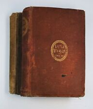 RARE 1870-71 Little Women First Edition Set - 2 Parts  SIGNED? Louisa May Alcott