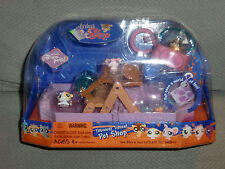 LITTLEST PET SHOP Teeniest Tiniest Rodent Set NIP 3 mini pets Hamster Mouse 2007