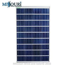 100 Watt 12 Volt Polycrystalline Andromeda Solar Panel Photovoltaic PV Offgrid