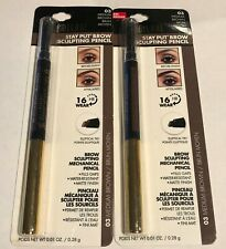 (2) Milani Stay Put Brow Sculpting Pencil, 03 Medium