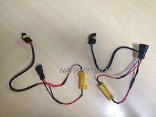 H11 Load Resistor CANBUS Decoder LED DRL Fog light error code message cancel