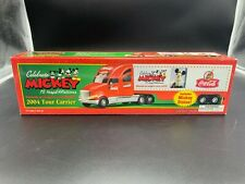 Coca Cola Truck Celebrate Mickey 75 InspEARations 2004 Tour Carrier Sealed