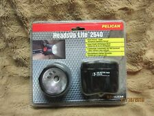 Pelican Heads Up Lite 2640 -:- Dual Switch Flashlight - Halogen or LED - New!!!!