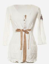 Odd Molly SEÑORA CARDIGAN SUÉTER Sweater talla 3 (ar 40) 439 túnica crema 95235