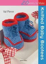 Knitted Baby Bootees (Twenty to Make) by Pierce, Val