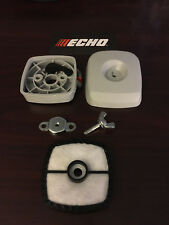 Echo Air cleaner case , Filter cover , Wing nut & Filter New OEM Parts