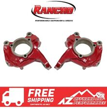 Rancho High Steer Knuckle Kit for 07-18 Jeep Wrangler JK JKU RS62100 Red PC