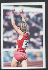 A Question of Sport 1986 Game Card - Christina Boxer - Athletics (T557)