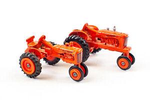 Lot of 2 Diecast ERTL Tractors - Models 2741M & 2701M | 1:64 Scale