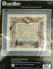 Bucilla Apache Marriage Blessing Counted Cross Stitch Kit 41335 Vintage 1996