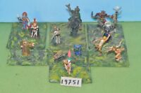 warhammer fantasy 12 fantasy characters metal wizard druid knight - (19751)