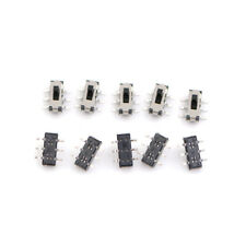 10Pcs MSS22D18D Schiebeschalter Toggle Switch 2P2T 6 Feet DVD Switch SMD 6Ph DE