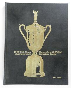 1969 US Open Golf Championship Program Houston Champions GC young Jack Nicklaus