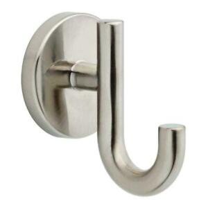 DELTA TRINSIC ROBE TOWEL HOOK 75935-SS BRILLIANCE STAINLESS FINISH WALL MOUNTED