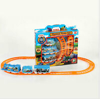 Trains Cars Kids Toys Train Set And Friends Electric Track Toy  Small Splicing