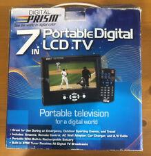 """Digital Prism Atsc-752 7"""" Portable Handheld Lcd Tv"""