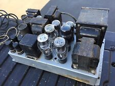 Vintage BROOK  Tube Amplifier Amp  Quad 2a3 Tubes For Western Electric Capehart