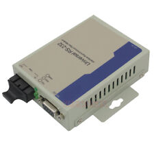 Industrial Bidirectional RS232 Optical MODEM Serial to Fiber Converter DB9 SM SC