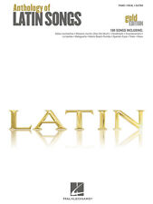 Anthology of Latin Songs Gold Book Piano Vocal Guitar PVG Sheet Music Songbook