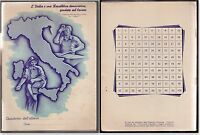 QUADERNO D'EPOCA ANNI '30-'40 L'ITALIA E' UNA REPUBBLICA FONDATA SUL LAVORO Q69