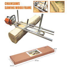 """Woodworking 24' Portable Chainsaw Mill Planking Milling Bar Size 14"""" to 24"""""""