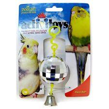 JW Insight Activitoys Disco Ball Bird Toy FREE SHIPPING