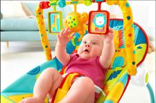 New Infant-To-Toddler Rocker Baby Seat Swing Chair Bouncer Safari Newborn Cradle