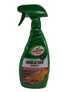 Turtle Wax Bug and Tar Remover 16oz Metal Paint Plastic Glass T520A