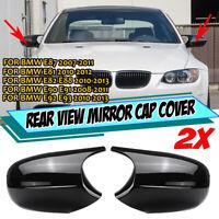 For BMW E81 E82 E90 E91 E92 E93 Facelifted 08-13 M3 Style Side Mirror Cap Covers