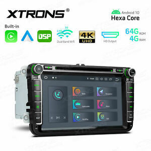 """8"""" Android 10 4+64GB Car Stereo DVD GPS Radio Car Auto Play Android Auto For VW"""