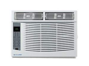 Cool-Living 6,000 BTU 115-Volt Window Air Conditioner with Digital Display and R