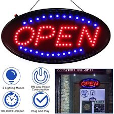 Neon Electric Display Led Open Sign Animated Motion Business Advertisement Board