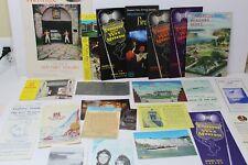 Vintage Niagara Falls Paper Souvenir Items - Brochures Booklets Postcards